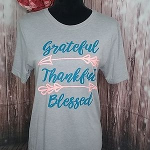Grateful, Thankful, Blessed T-Shirt